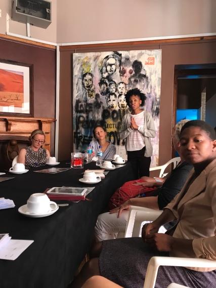Back: Valerie Sithole Front: Silenkosi Moyo